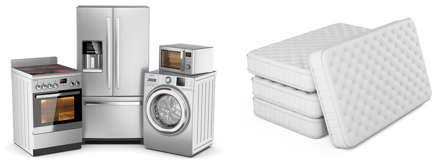 New Appliances and Bedding for sale at McDonough's Market