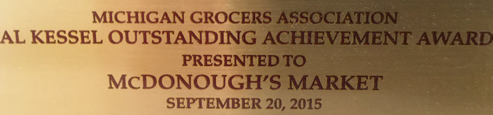 Michigan Grocers Association Award