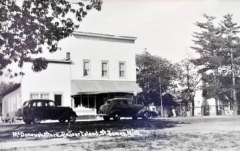 McDonough Market Beaver Island History