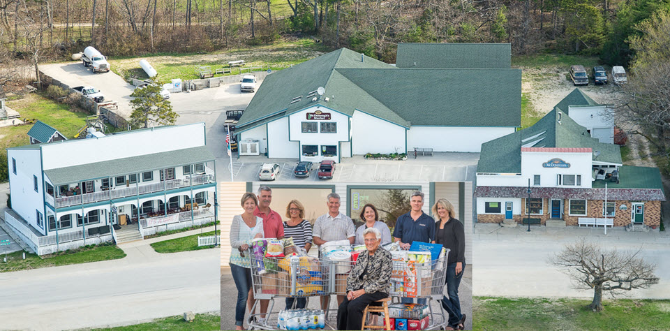 McDonough's Market, Dalwhinnie's and McDonough family