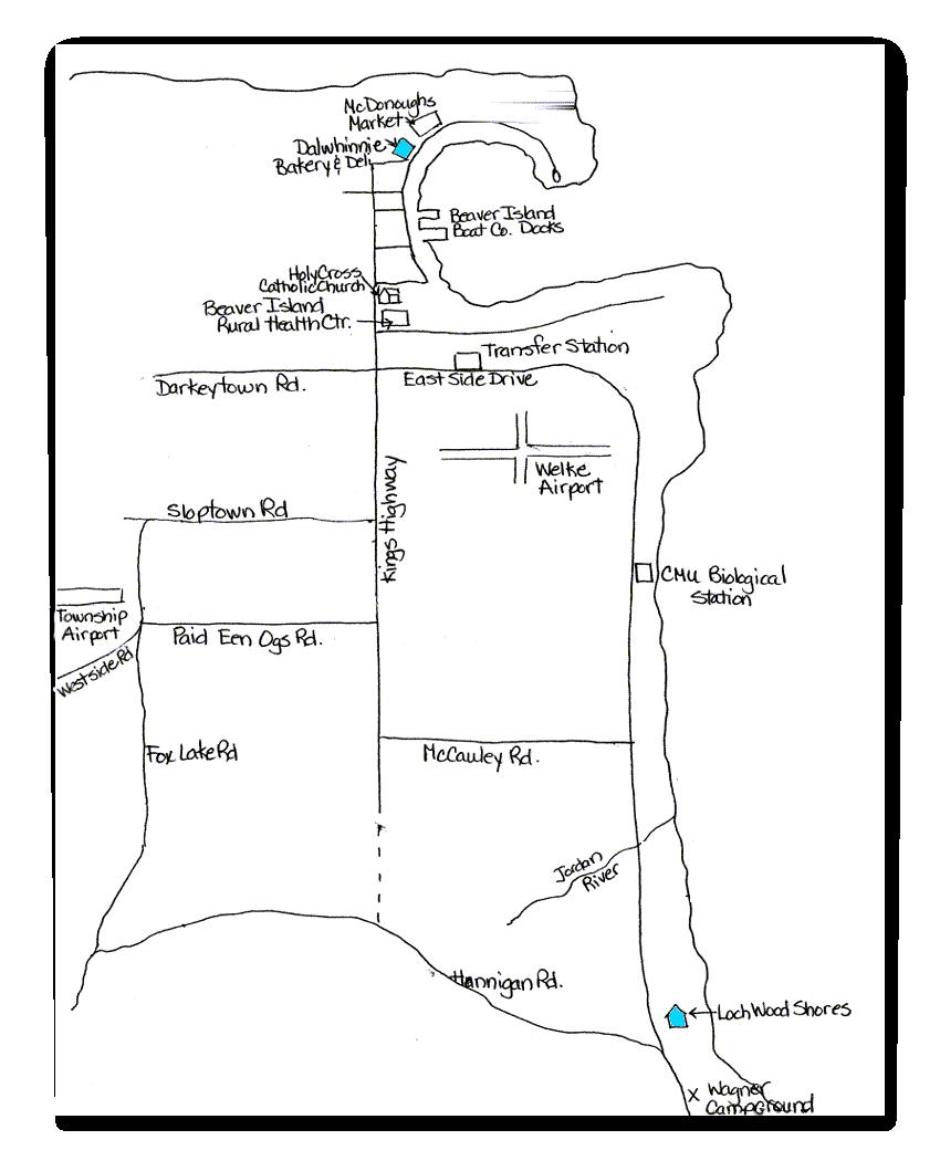 Beaver-Island-Rentals-Map